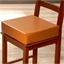Coussin réhausseur de chaise simili-cuir