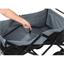 Chariot de transport pliable rouge