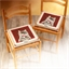Galettes de chaise : Lot de 2 ou 4