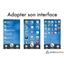 Smartphone Ordissimo® et étui de protection