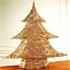 Glinsterende kerstboom/Goudkleurig