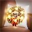 Coussin LED Noël
