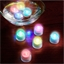12 bougies LED color