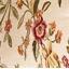 Zitsbankhoes met bloemenmotief