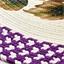 Ovaler Läufer, Weintrauben / Halbmondförmiger Läufer, Weintrauben