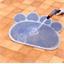 Grey mat for feeding bowl