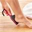 Geschwungene Feile für Füße