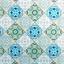 2 couvre-plaques mauresque bleu / Couvre mur mauresque bleu