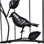 Circular bird motif table