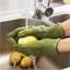 Gants et éplucheur légumes