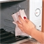 Microwave oven-cleaning wipes