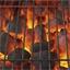 Rol aluminiumfolie voor grillade