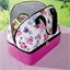 Blumige Iso-Tasche, rosa
