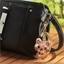 Sleutelhanger kat met pailletten