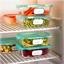 200 zelfklevende en oplosbare etiketten