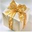 4 rollen goudkleurig lint