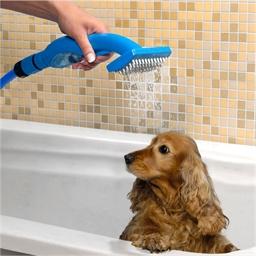 Pet shower brush
