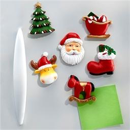 6 Weihnachtsmagneten