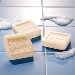 Pack of 3 asses' milk soaps