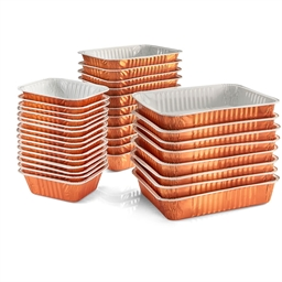 Special microwave trays : Set of 24