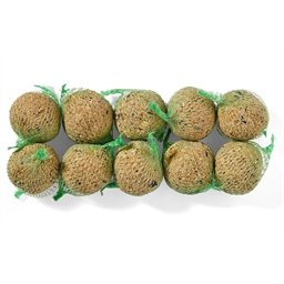 10 boules de graines, 10 x 90 gr ou Lot support + 10 boules de graines