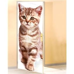 Deurposter/kat Kat