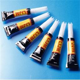 6 tubes lijm