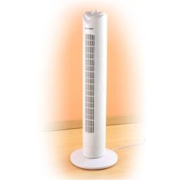 Ventilateur colonne blanc