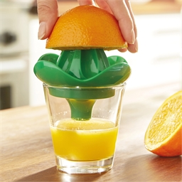 """Direct"" citrus squeezer"