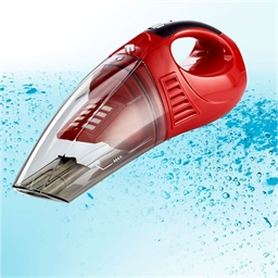 Rechargeable hand-held vacuum cleaner