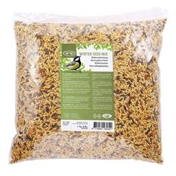 Mangeoire pour oiseaux / 10 boules de graines / Graines pour oiseaux
