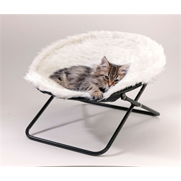 Verplaatsbaar kattenbedje Wit