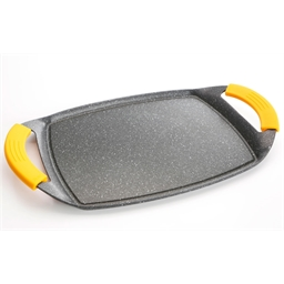 Griddle suitable for all hobs: small or large model