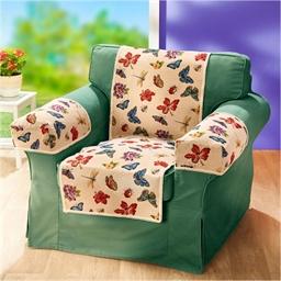 Protège-fauteuil papillons