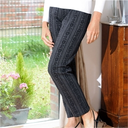 Comfortable Floral Trousers
