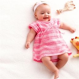 Werkbeschrijving Babylux color jurk nr. 3