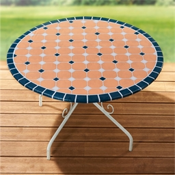 Mosaic table cover Circular or Rectangular