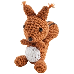 Mini-kit de crochet Ecureuil