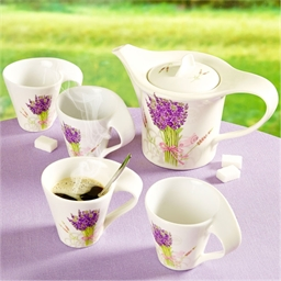 Kaffeeservice Lavendel