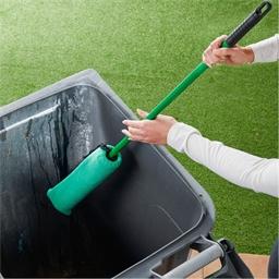 Brosse de nettoyage poubelle et container