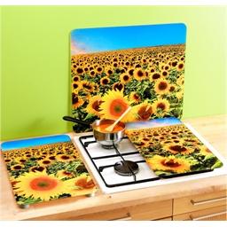 Sunflower splashback