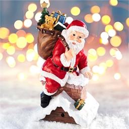 Père Noël sensor cheminée