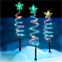 3 spirales Noël solaires