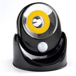 Motion sensor light black cob
