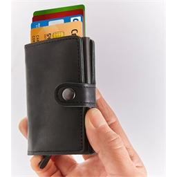 Secure credit card wallet