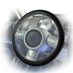 Silicone steering wheel cover Black or Blue