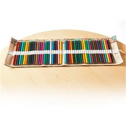 Pochette 48 crayons couleurs à dérouler