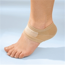 Set of 2 gel-pack heel protectors