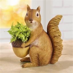 Cache-pot écureuil