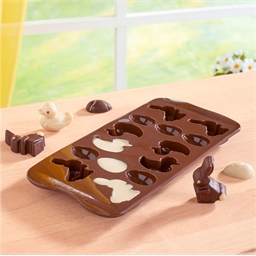 Silicone Easter chocolate mould